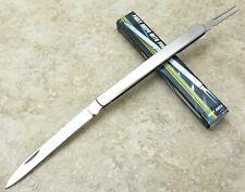 Folding Hobo Fruit Sampler Knife Melon Tester w/ fork STAINLESS Steel Handle NEW