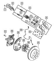 Genuine MOPAR Brake Hub And Bearing 4779706AC
