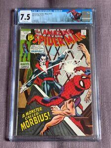 Amazing Spider-Man #101 CGC 7.5 1st Morbius Marvel Comic MCU New York Slab