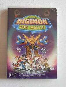 Digimon The Movie Digital Monsters DVD
