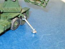 dinky toys, béquille métal pour camion servicing platform, militaire 667
