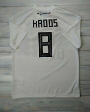 Kroos Germany soccer kids 13-14 years 2019 home shirt Bq8460 soccer Adidas