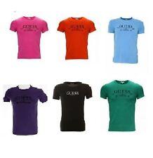 Camiseta De Guess Para Hombre Marca Nuevo 6 Colores