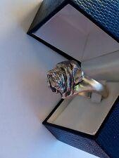 Anello in argento 925 cane mastino napoletano silver ring dog