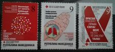 Macedonia 2016 Red Cross,TBC,AIDS MNH