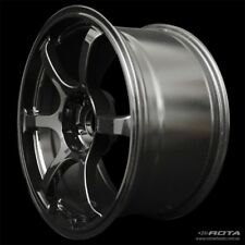 "18"" ROTA Boost 2R MATT BLACK WHEELS RIMS FORD, TOYOTA, HONDA, MITSUBISHI"