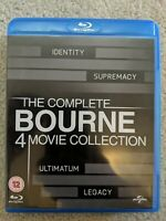 The Bourne Collection Identity, Supremacy, Ultimatum And Legacy Blu Ray