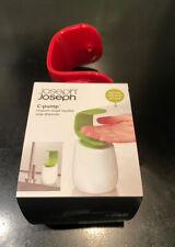Joseph Joseph New C Pump Hand Soap Dispenser Red/White RRP £20