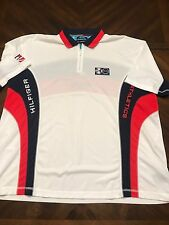Vintage Tommy Hilfiger Athletics Scuba Dive Team Polo Gear Athletic USA Mens XXL