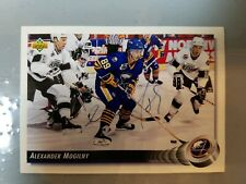 1992 ALEXANDER MOGILNY autographed signed upper deck NHL Hockey Buffalo Sabres