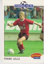 Panini Fussball 92-93 Action Cards #106 Frank Lelle 1. FC Kaiserslautern