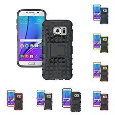 pour Samsung Galaxy S7 résistant robuste double couche BÉQUILLE ÉTUI COQUE