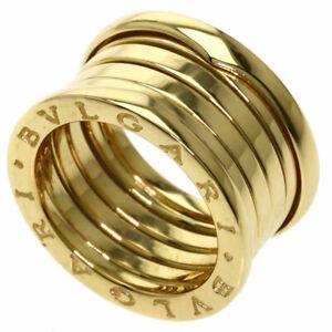 BVLGARI   Ring B-zero1 L #52 K18 Yellow Gold