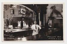 "SOUTH DAKOTA WINNER PEACOCK BAR ROSEBUD PHOTO ""COMPLIMENTS OF LOUIS PTAK"", 1942"