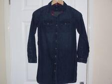 GAP Denim Shirt Dress With Hood. Age 10-11