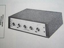 SHERWOOD S-4000 AMP AMPLIFIER PHOTOFACT