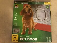 Hakuna Medium ULTRA CLEAR PET DOOR 4-Way Locking Flap
