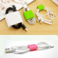 Creative Organizer Mini Headphone Cord Clips USB Holder Wire Ties Cable