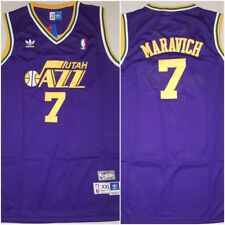 RARE Pete 'Pistol' Maravich Utah Jazz Replica Throwback XXL Basketball Jersey