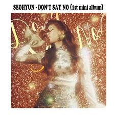 seohyun - DON'T SAY NO (1ST mini album) CD+photobook+photocard+ folded poster
