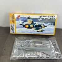 PM Model Mirage III EA & Dagger 1:72 Scale Model Kit PM-207 Rare