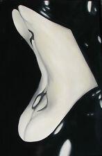 Tom PORTA (Milano 1970) Back in black Olio su tela GRANDE cm 150x100 anno 2004