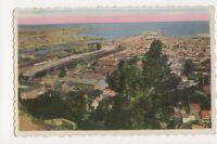Cherbourg Vue Generale Sur Le Port France Vintage Postcard 301a