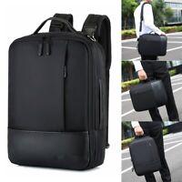 Men Waterproof 15.6 Laptop USB Backpack School Briefcase Shoulder Bag Handbag