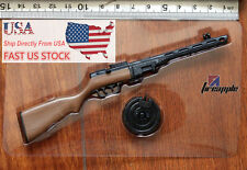 1:6 Scale WWII PPSh41 Submachine Gun Weapon Model F/12