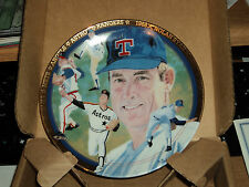 """1993 Nolan Ryan The Strikeout Express Hamilton Collection 6"""" in Plate Orig Box"""