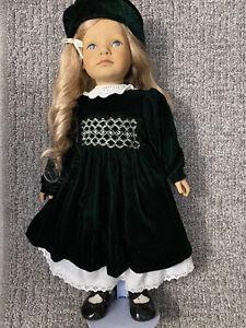**RARE** ANNIVERSARY DOLL - Heidi Ott Swiss Design Handmade Doll