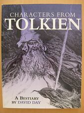 Characters from Tolkien David Day Paperback Lord of the Rings NEW Fast Shipping