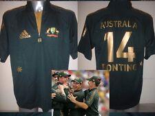 Australia S M L XL Cricket Shirt ADIDAS BNWOT Jersey New PONTING LEE MCGRATH Top