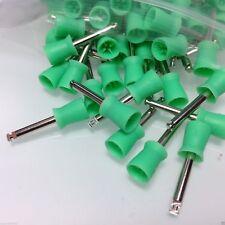 1000 pcs Dental New Latch type Polishing Polisher Cups Green Color