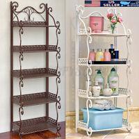 3/5 Layer Bathroom Shower Shelf Kitchen Bath Rack Home Storage Holder Organizer