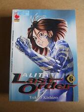 ALITA LAST ORDER Vol.6 - Alita Collection Planet Manga  [G370P]*
