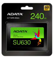 "ADATA Ultimate SU630 2.5"" 240GB SATA III 3D NAND Internal Solid State Drive SSD"
