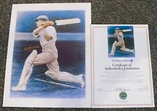 DON BRADMAN  SIR DONALD BRADMAN  HAND SIGNED WITH CERTIFICATE OF AUTHENTICITY