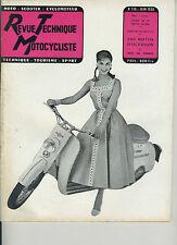 (31A)REVUE TECHNIQUE MOTOCYCLISTE VELAM-ISETTA / AJS 350 cc mono