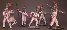 St. Petersburg. Amber. Napoleon's Army Set - 5 Soldiers, 54 mm