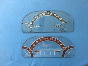 1938 Desoto Speedometer and Gauge Glass