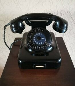 Antikes - altes Telefon W38 vom VEB RFT von ca.1950 mit getesteter Funktion