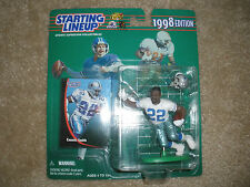 NEW~Emmitt Smith #22 STARTING LINEUP ACTION FIGURE Dallas Cowboys NFL TV