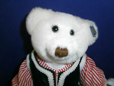"""Annete Funicello Mikhail 9"""" Jointed Russian Plush Bear"""