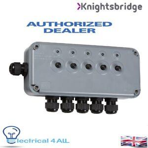 IP66 13A 5G SWITCH BOX - KNIGHTSBRIDGE IP5G