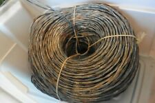 Vintage Western Electric Cloth Wire Bell system Stranded twisted 16/2 25 feet