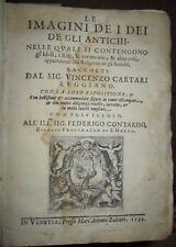 1592 - Le Imagini De I Dei De Gli Antichi - Cartari V.