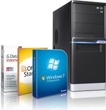 PC Quad Core Computer INTEL i7 920 8GB 1TB Rechner Komplett Windows 7 Pro 64bit