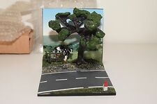 -= NOREV DIORAMA RESIN LANDSCAPE WITH COW AND TREE 1/43 MINT BOXED NEW
