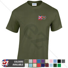 Royal Corps of Transport - Veteran T Shirt with Union Jack Breast Print